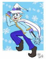 Snow Ben by CaseyLJones by BenBandicoot