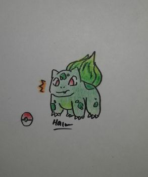 Bulbasaur *coloured by pup-fu
