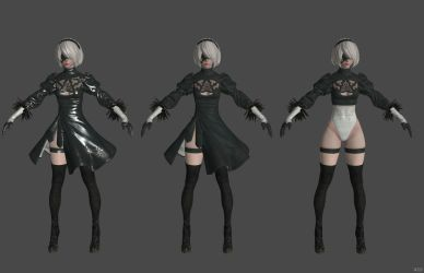 'Nier: Automata' YoRHa 2b XPS ONLY!!! by lezisell