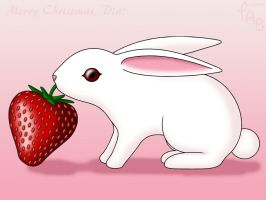 Strawberry Bunny by fab-wpg
