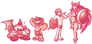 Swimsuit Smashers by JamesmanTheRegenold
