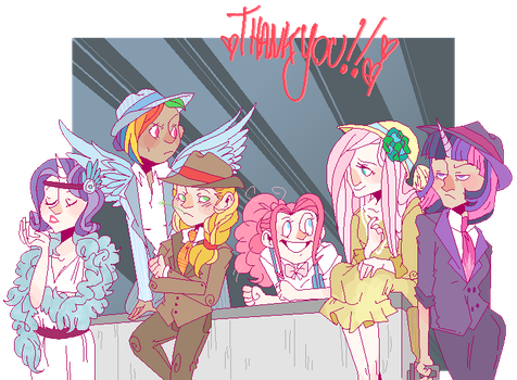 Gangsters and Flappers by SteveTwisp