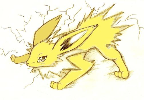 Jolteon by Naaraskettu