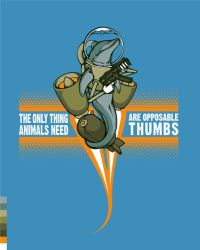 Opposable Thumbs by pseudo-manitou
