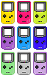 Gameboy Color (Pixel-art) by AloneAgainstPixels