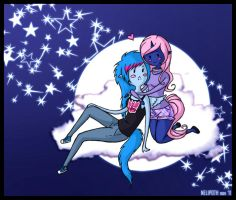 Fly me to the moon by nelipoth
