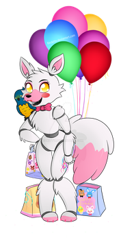 FNaF The Mangle: Happy Birthday~ by Beckitty