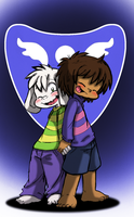 Undertale: The Dreemurr Siblings by Neloku