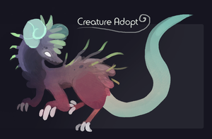 Closed - Creature Adopt 001 by AstraGalactica