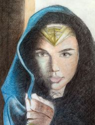 Gal Gadot Wonder Woman by robi83