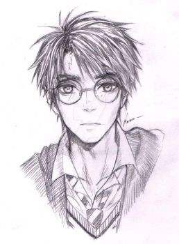 Harry Potter - Sketch by Laovaan