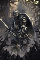 dark souls by h1fey