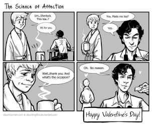 Sherlock: Science of Affection by dauntingfire
