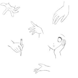 Hand sketches by Gigivana