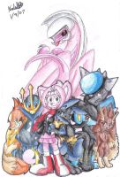 Pokemon Pearl Team