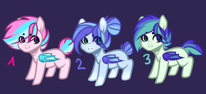 Pastel Bat Pone Adopts Auktion(Closed) by Kittyx-Galaxy