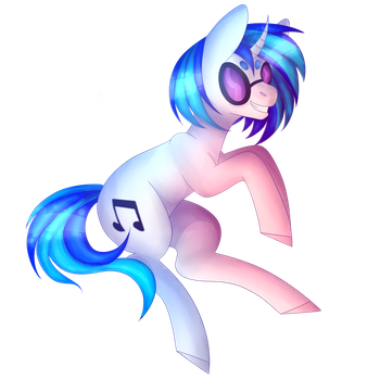 [COLLAB] Vinyl Scratch by veincchi
