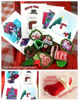 Christmas goodie bag by zambicandy