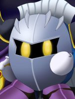Character Portrait: Meta Knight by EvanDaMaster