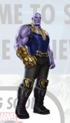 New Avengers: Infinity War Thanos Promo Art by Artlover67