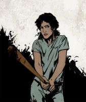 Actual Pack Mom Melissa McCall by oldshuck