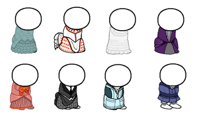 Victorian Clothing by missbagel