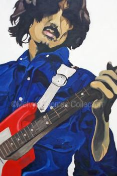 George Harrison -red guitar by MelT55