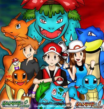Pokemon FireRed and LeafGreen by blaze35