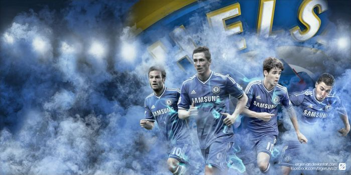 Chelsea Wallpaper V2 by Ergen-Art