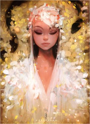 Yellow Leaves - Patreon! by rossdraws