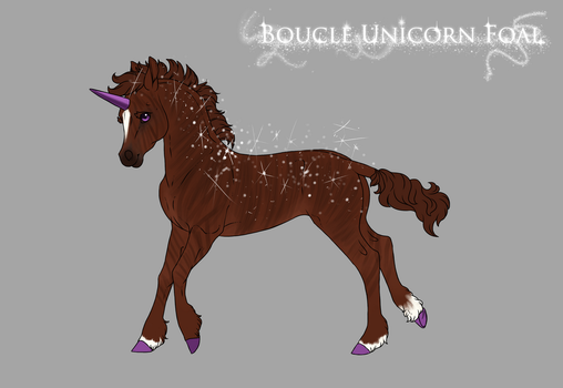 L134 Foal Design by FallenChocoCookie