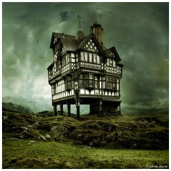 House on a Hill by JeRoenMurre