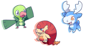 Choose your Starter! by torqupine