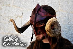 Aries mask by AtelierFantastique