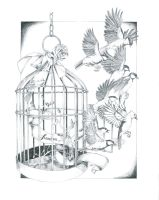 Freedom (Series: The Journey of the birds) by Arahiriel