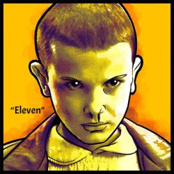 StrangerThings_Eleven by space-ghost