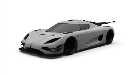 Koenigsegg One:1 WIP by gbpackers