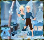 Elsa And Jack Frost Family by Yandere-ChanKawaii13