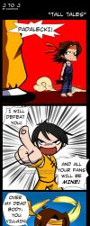J to J: Tall Tales by KamiDiox