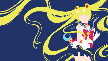 Sailor Moon from Sailor Moon Crystal | Minimalist by matsumayu