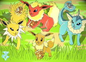 Pokemon - Easter Contest Entry by JP-V