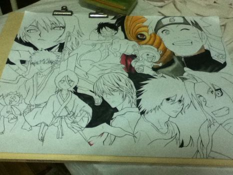 My Favourite Animes Part 2! by ranchan-123