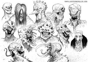 MONSTERS 05 by AustenMengler