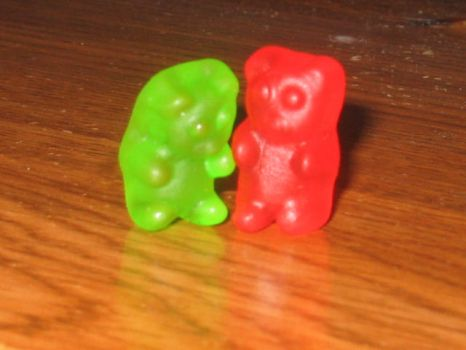 Perverted  Gummie bear by Sweet-Fish-Sushi