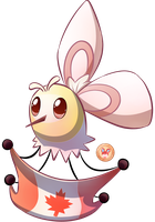 The Canadian Cutiefly by Stacona