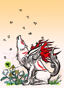 Okami: Howl by Risachantag