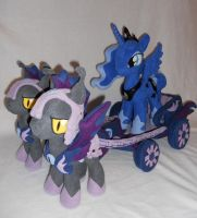Princess Luna and her chariot. by agatrix
