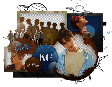 GOT7|PACK PNG by KoreanGallery