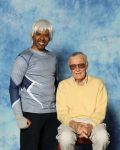 Quicksilver and Stan Lee by R-Legend