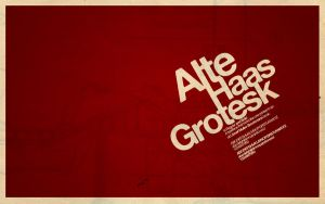 Alte Haas Grotesk wallpaper by kylebuhtuh